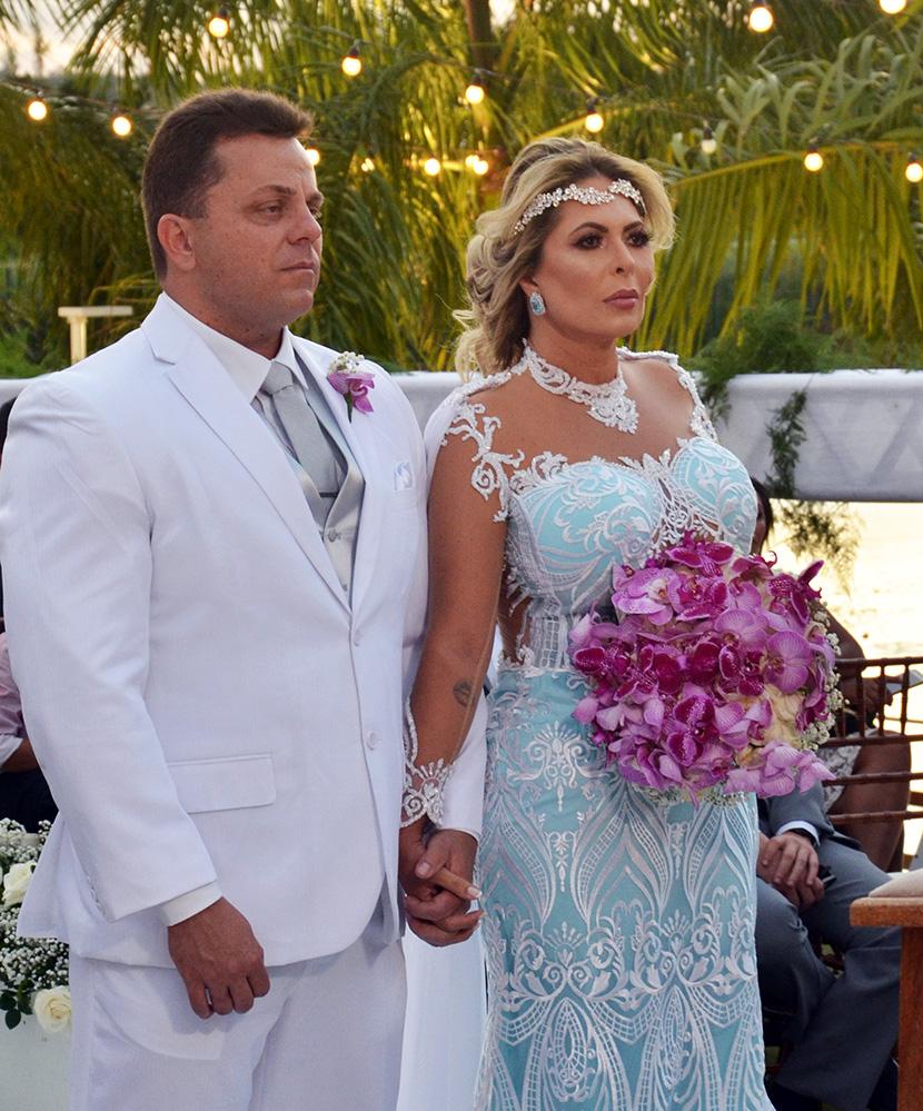 O surpreendente casamento de Nobilene Braga e Marconi Araújo no entardecer da Serra da Borborema