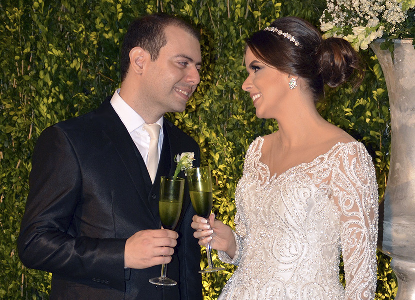 PARTE 1 – Emoção e amor no lindo casamento de Morganna Castro e Gabriel Costa que aconteceu no Ball Room do Garden Hotel