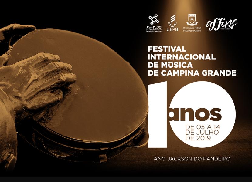 Veja a programação do 10º Festival Internacional de Música de Campina Grande e do 3º FIMUS Jazz.