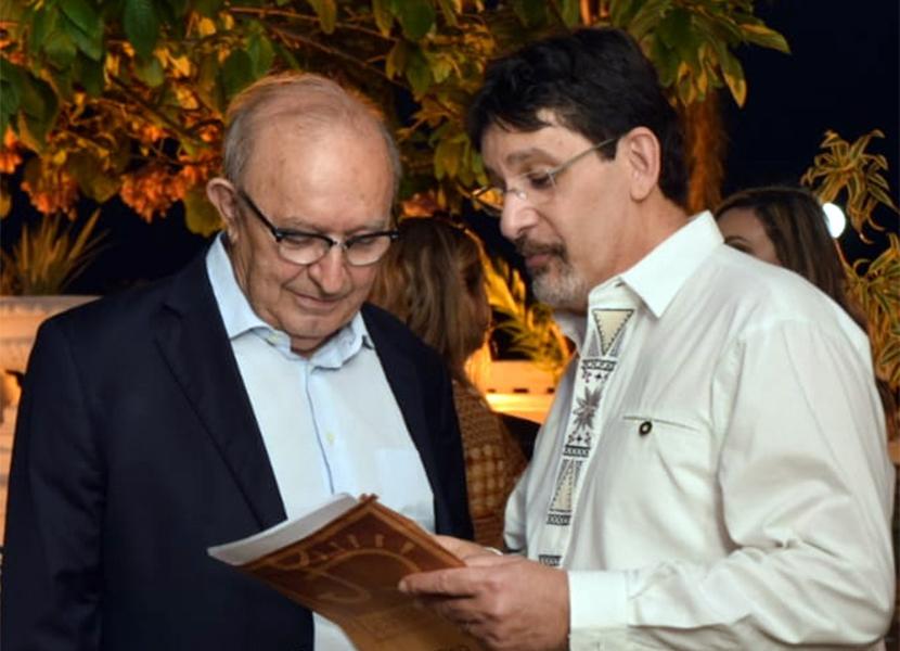 FIEP lança livro Dumar em solenidade no Hotel Globo, em João Pessoa