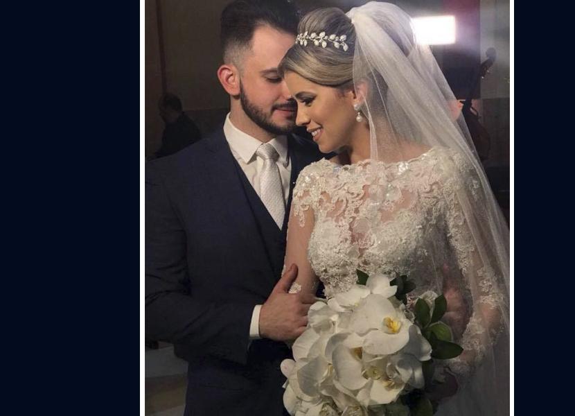 Pedro e Pryscilla Ferreira Coutinho celeberam dois anos de união, amor e cumplicidade
