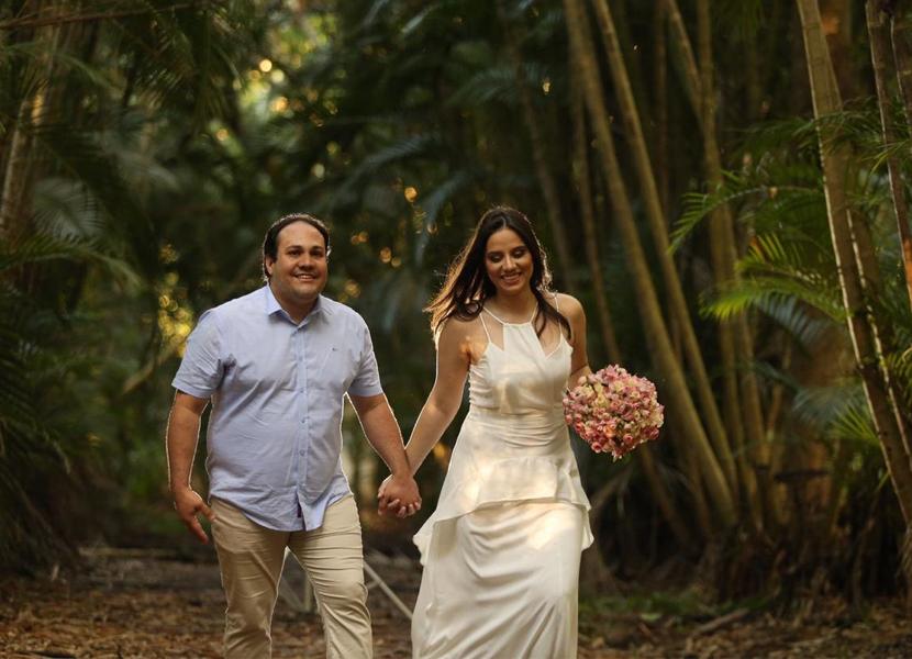 Daniel Oliveira e Rafaela Dantas se casam hoje na Igreja Nossa Senhora de Lourdes
