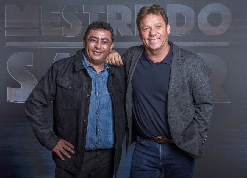 Paraibano apresenta reality gastronômico na Globo ao lado do seu fiel escudeiro e bandalado chef – Claude Troisgros