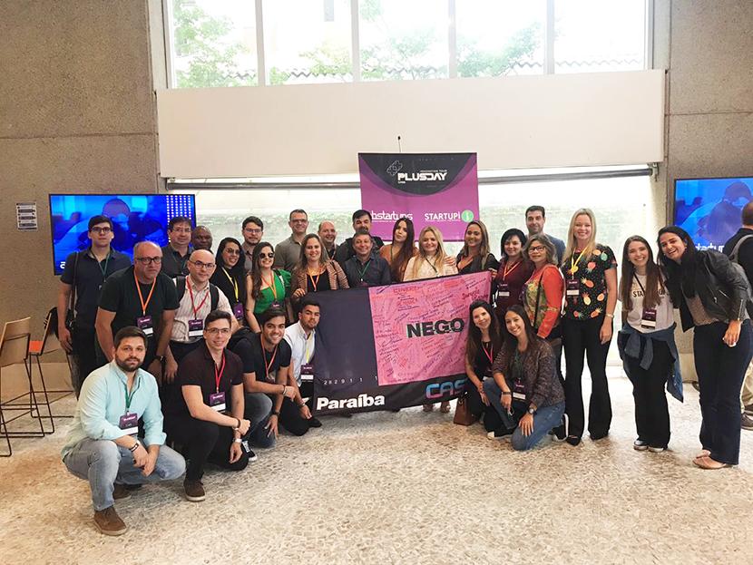 35 empresários e donos de startups na Paraiba estão em São Paulo participando da 5ª edição da Conferência Anual de Startups e Empreendedorismo – Case