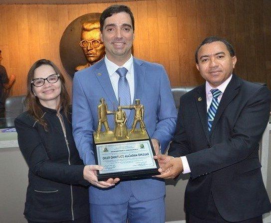 Câmara Municipal de Campina Grande homenageia o Procurador Raulino Maracajá com Título de Cidadania Campinense