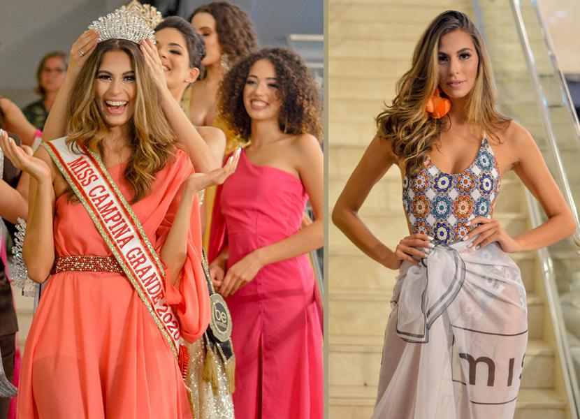 A arquiteta Heloísa Pimentel é a Miss Campina Grande 2020. Nathália Sales que ficou em 2º lugar vai representar a Paraíba no Miss Supranational Brasil 2020