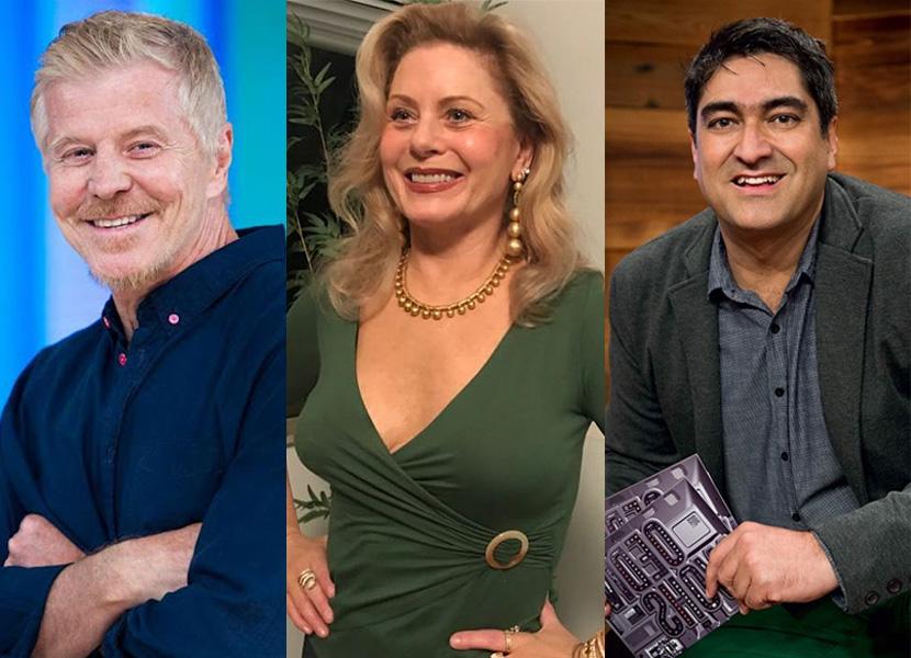 Mais três estrelas são dispensadas da Globo:  Miguel Falabella, Vera Fischer e Zeca Carmargo