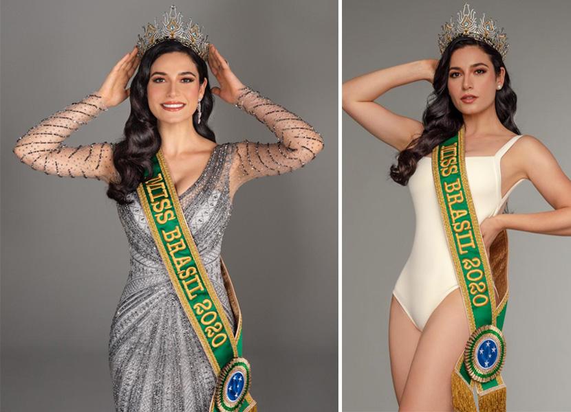 Julia Gama foi eleita pela internet a Miss Brasil 2020
