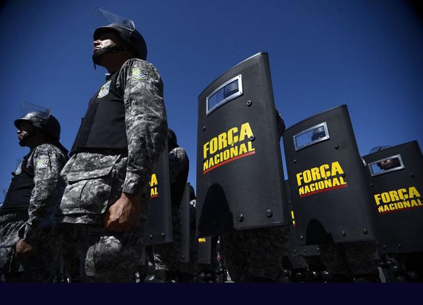 GOVERNO BOLSONARO PRORROGA FORÇA NACIONAL NA PARAÍBA ATÉ 2021