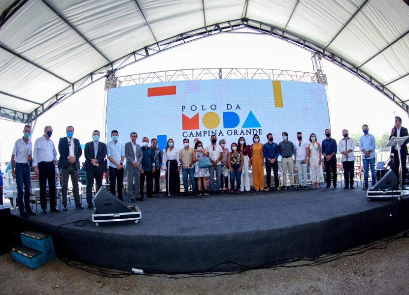Presidente da Fiep participa do lançamento do Polo de Moda Campina Grande