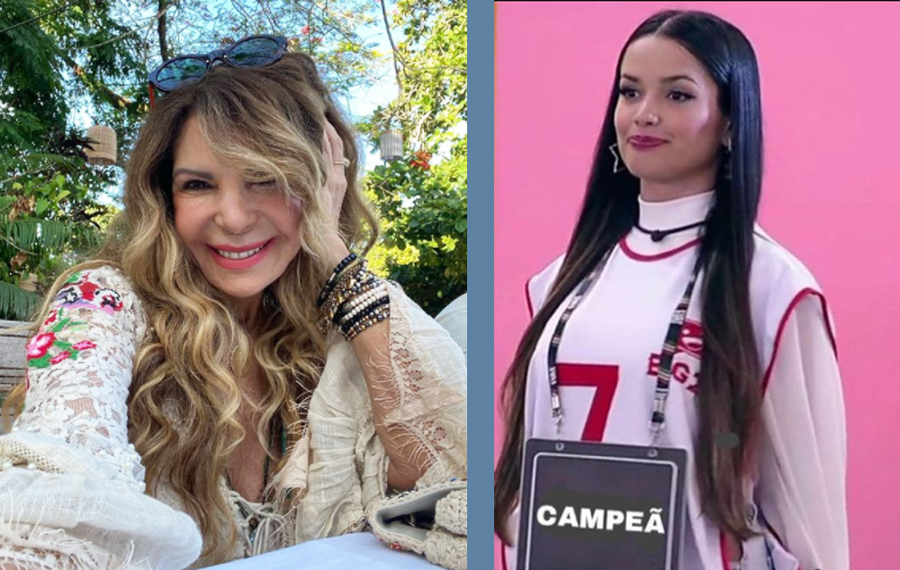 Elba Ramalho posta foto de Juliette em suas redes sociais em apoio a paraibana