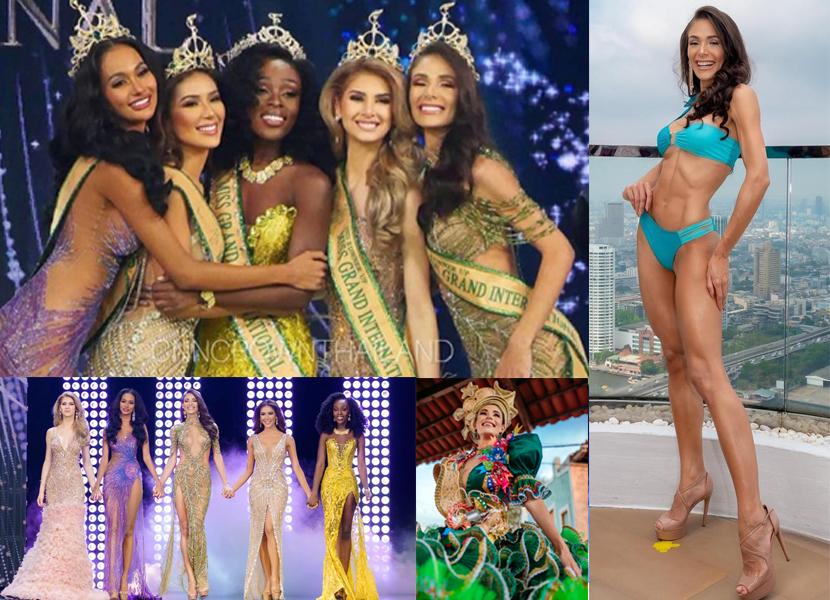 A paraibana Lala Guedes fica entre as 5 mulheres mais bonitas do mundo no concurso Miss Grand Internacional